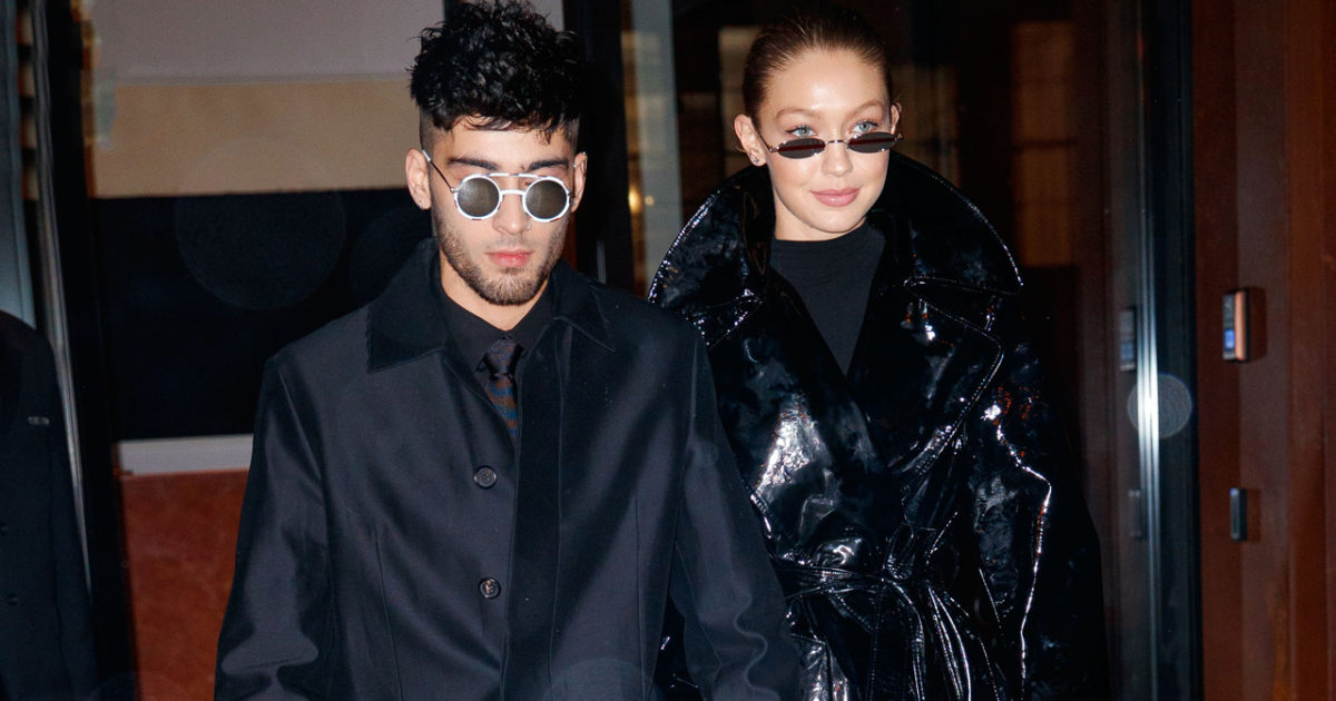 Así fue a primera date de Gigi Hadid y Zayn Malik tras de convertirse en padres